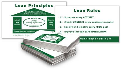 Lean Principle Cards