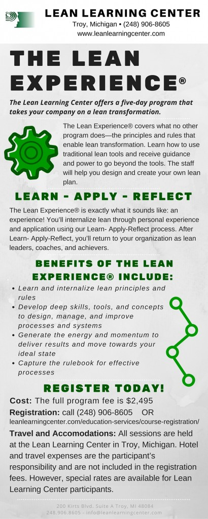 The Lean experience®